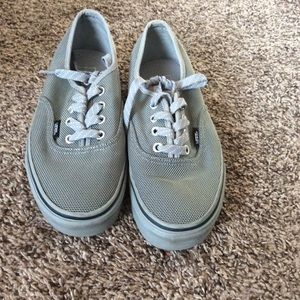 Gently Used Grey Vans